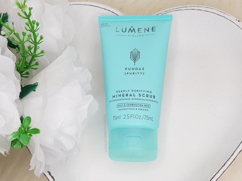 Lumene Puhdas Purity - peeling mineralny oczyszczający pory
