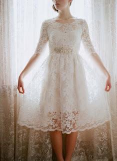 dantel nikah elbisesi