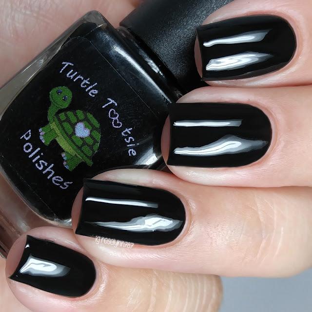 Turtle Tootsie Polishes - Black Ranger