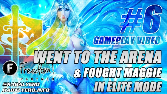 League Of Angels 2 Gameplay #6 ★ Went To The Arena & Fought Maggie In Elite Mode