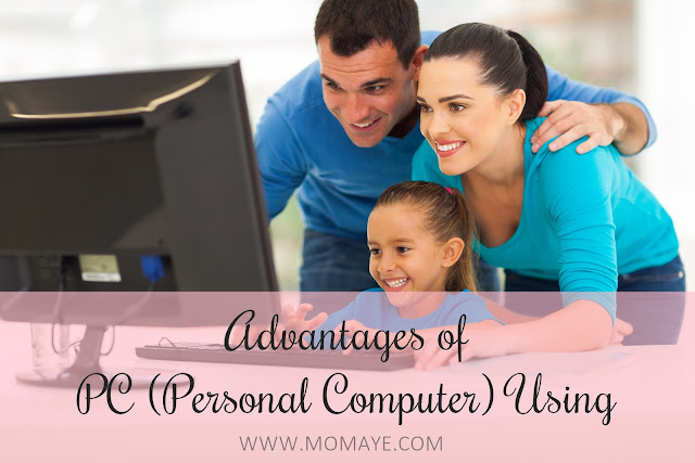personal computer, technology, home, home and living
