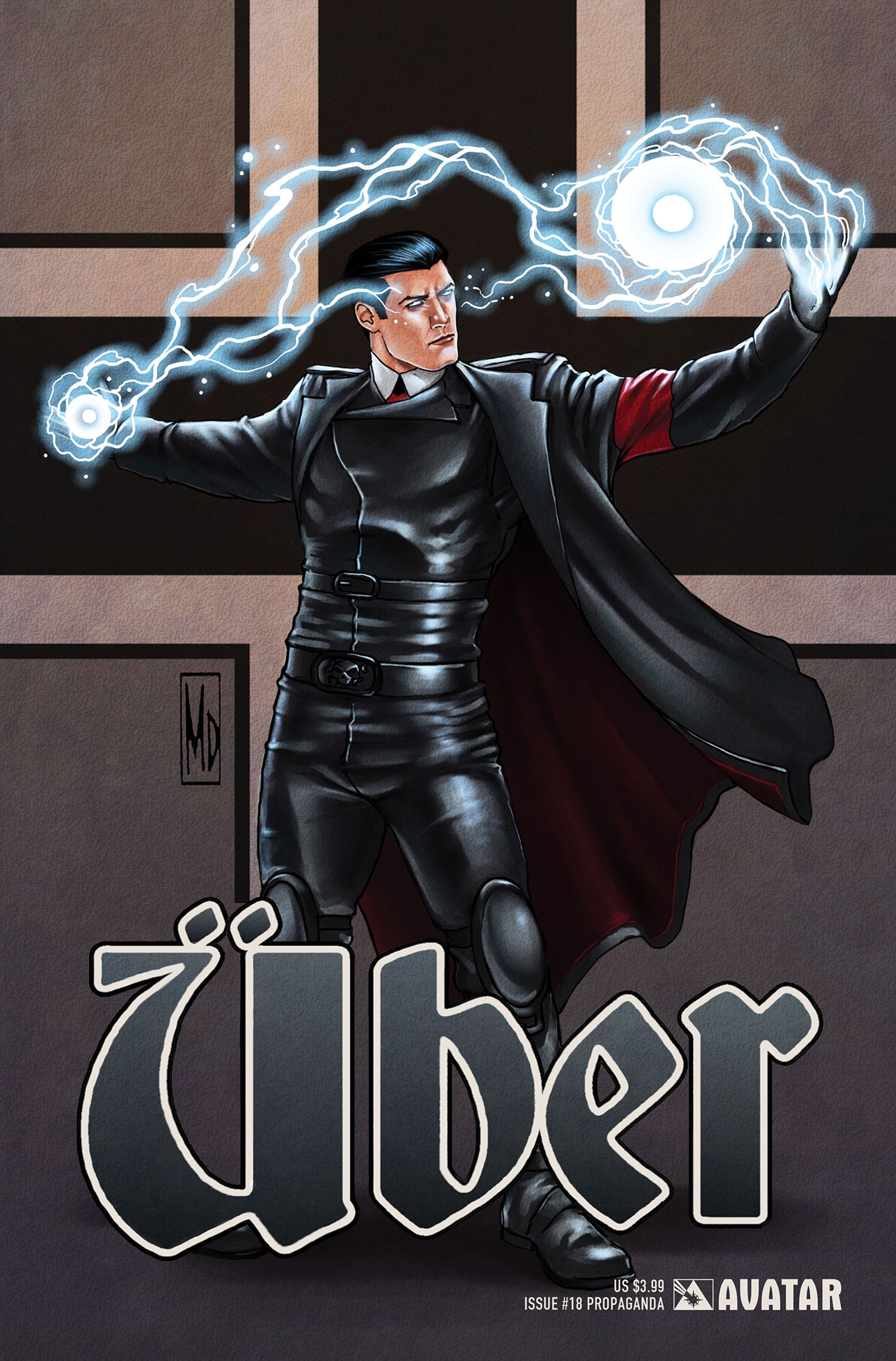 Read online Uber comic -  Issue #18 - 2