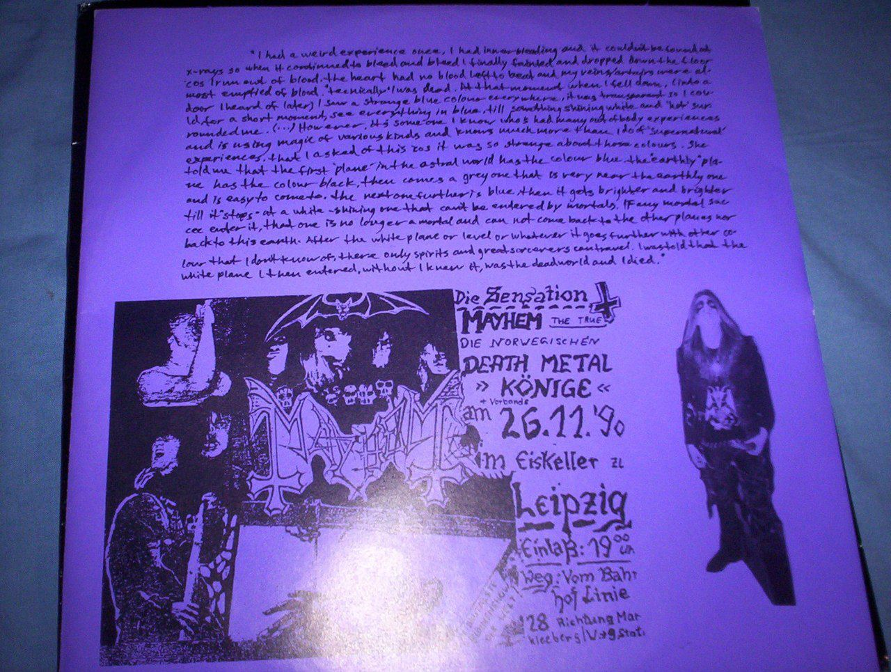 + Pelle Ohlin Letter about his Near Death Experience +