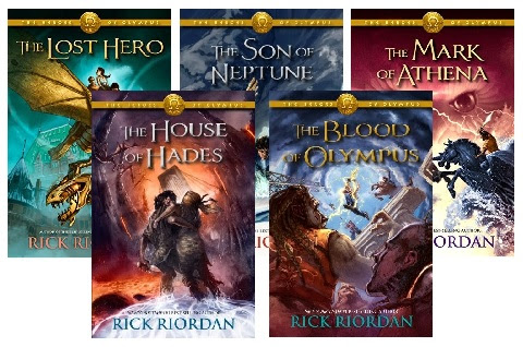 Rick Riordan – Heroes of Olympus Series is featured at the HBS Author's Spotlight Showcase