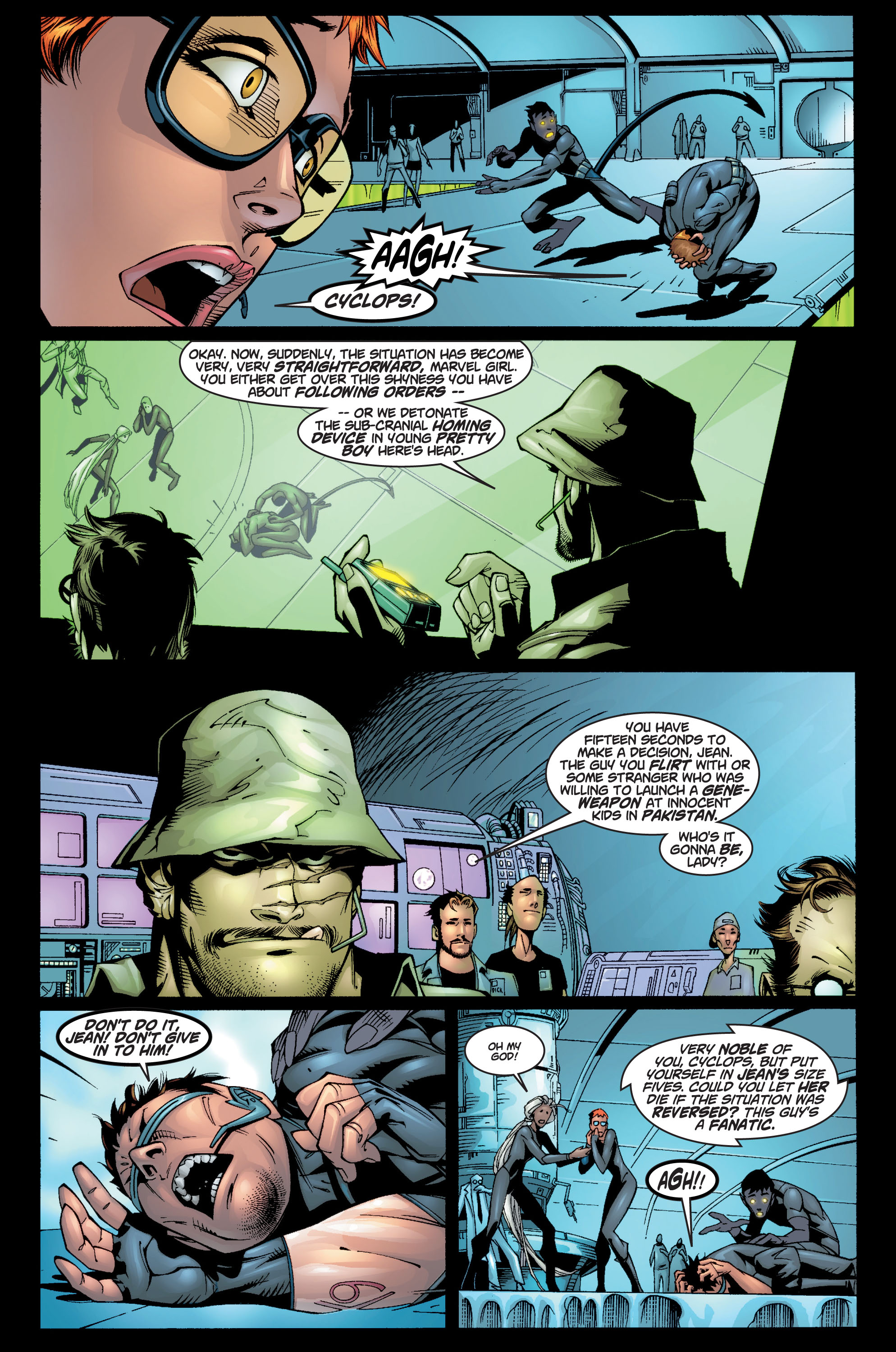 Read online Ultimate X-Men comic -  Issue #10 - 14