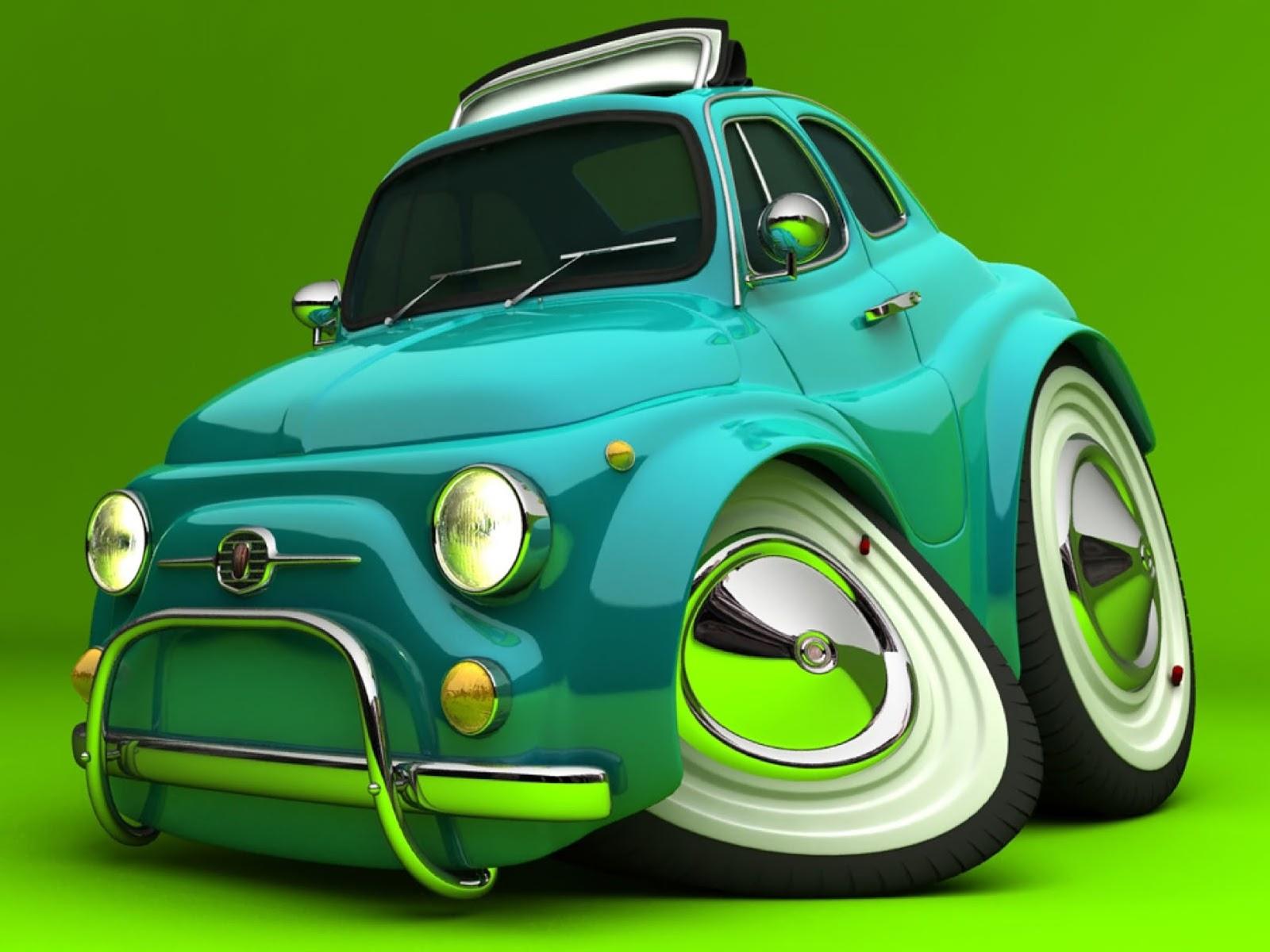 57 Koleksi Gambar Mobil Kartun Keren HD Terbaik