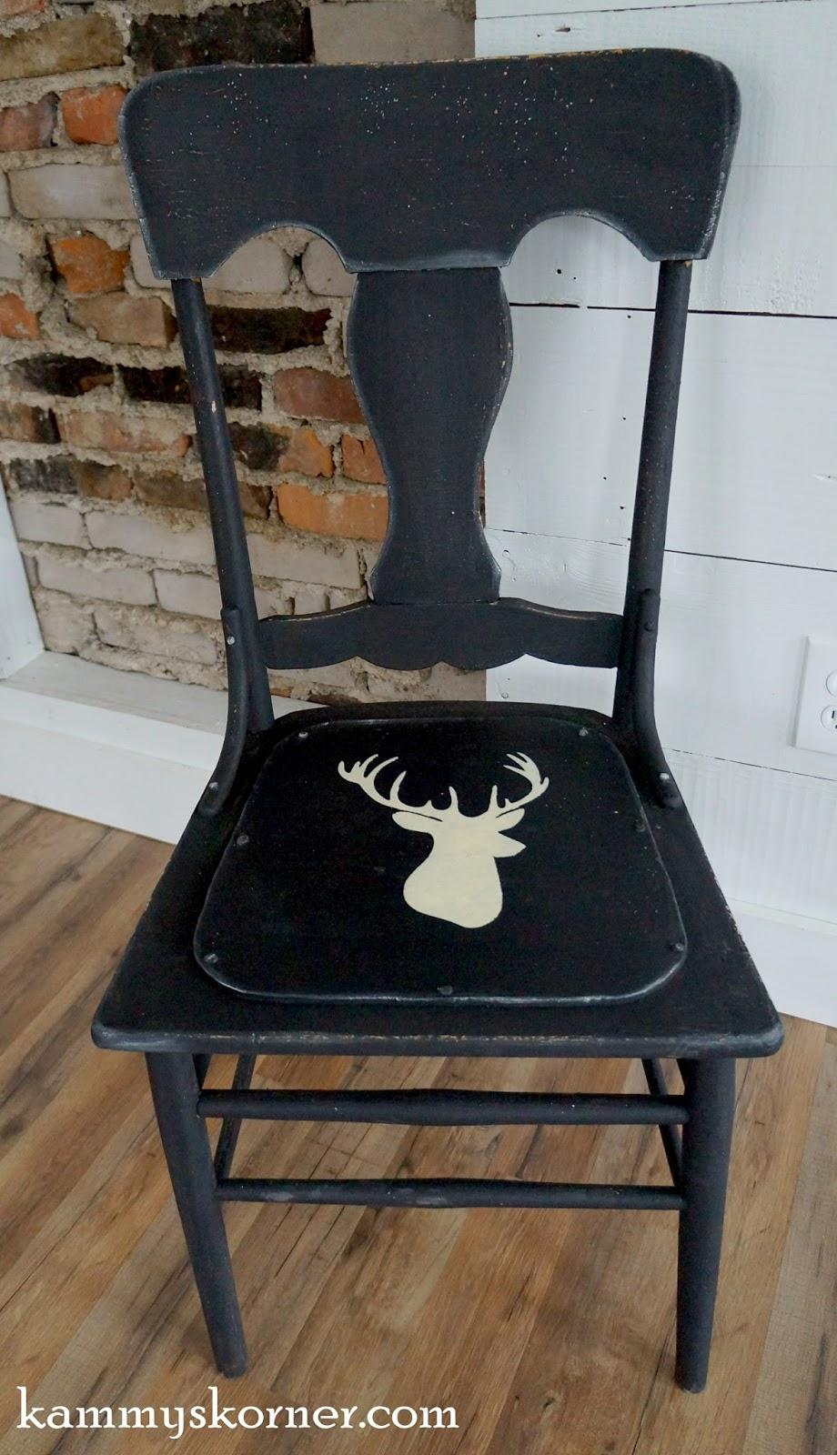 Kammy S Korner The Deer Head Chair