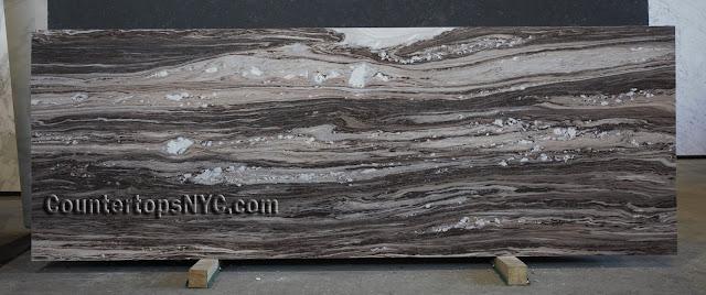 Palissandro Dark Marble Slab NYC 2cm