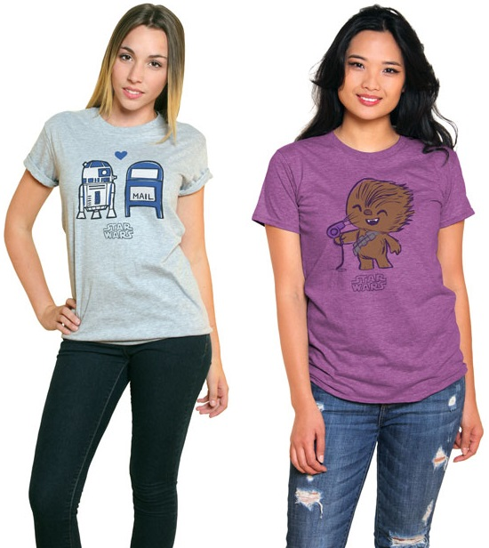 The Blot Says...: FYE Exclusive Star Wars Super Cute Tees ...