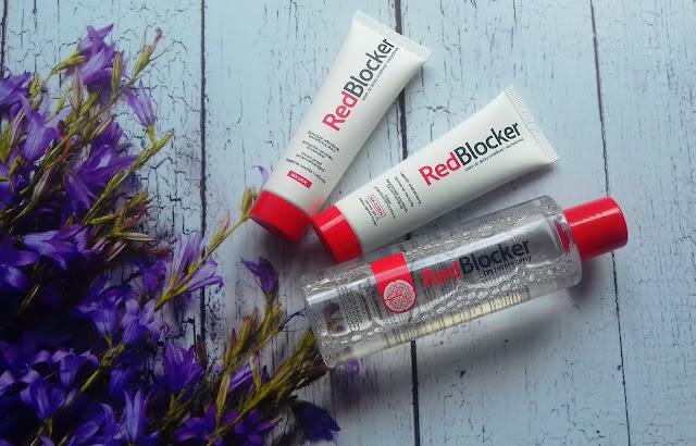 RedBlocker - krem na dzień, krem na noc oraz płyn micelarny - seria do cery naczynkowej