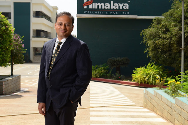 Mr. Rajesh Krishnamurthy, Business Head, Consumer Product Division, The Himalaya Drug Company