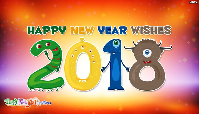 Happy New Year 2018 SMS Wishes