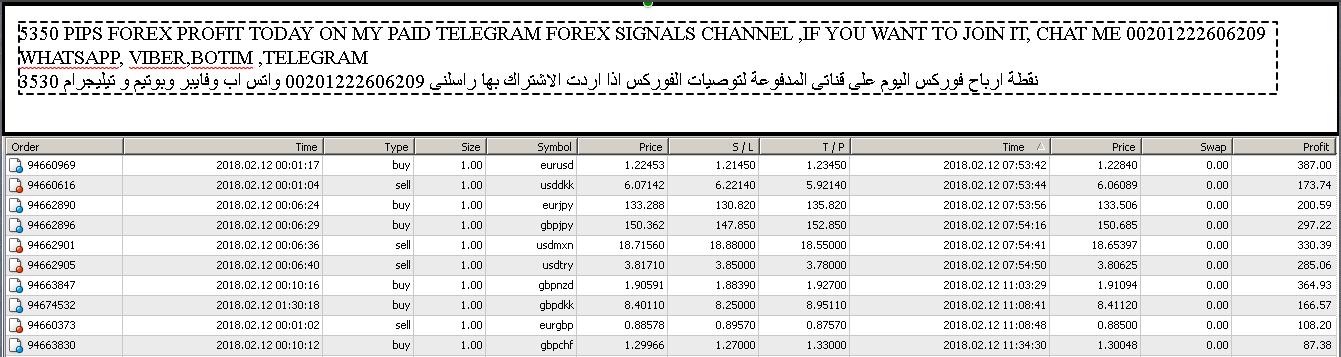 Forex analysis telegram channel