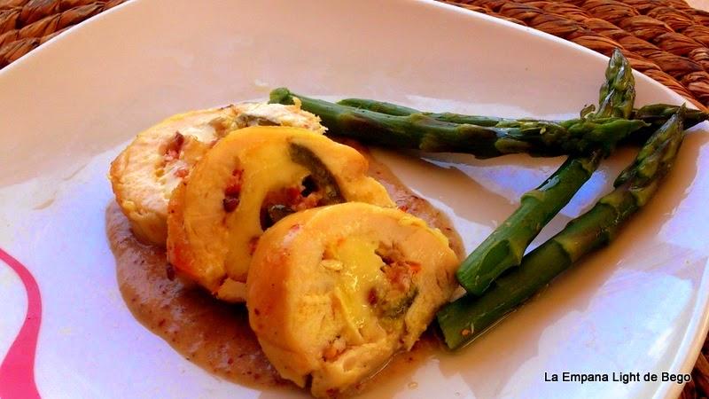 receta-de-enrollados-de-pollo-con-salsa-de-mostaza-antigua