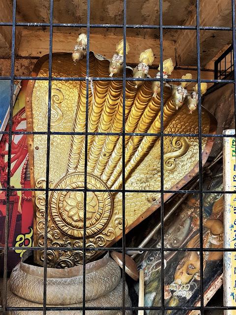 Sesha Vahana at Bhoga Nandeeshwara Temple