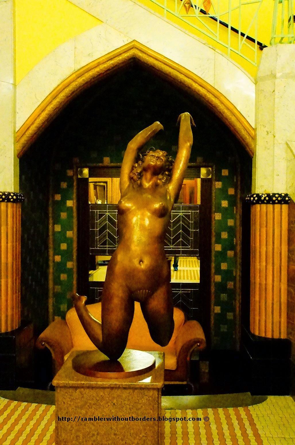 Statue, Imperial Hotel, Prague