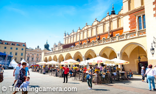 The Renaissance Sukiennice Cloth Hall - One of the main places to explore in Krakow City of Poland