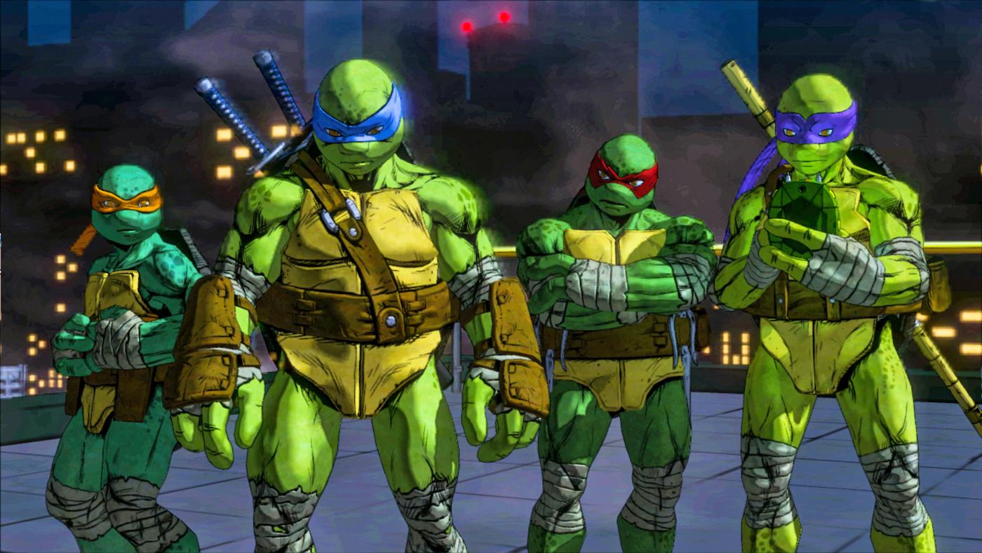 Teenage Mutant Ninja Turtles: Turtle Tactics 3D - Free Games