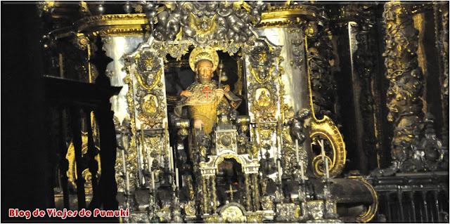 El Apóstol Santiago en la Catedral de Santiago de Compostela