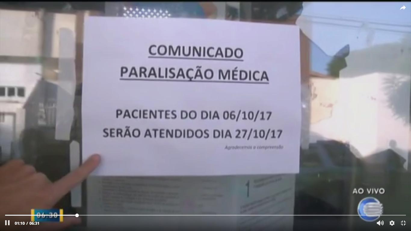 76456a4c2f Jornal da Parnaíba  Médicos do estado paralisam por 24h e atendimentos são  suspensos em todo o Piauí