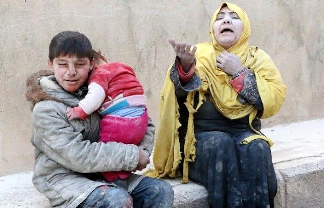 Kisah Pilu Bocah Suriah: Petak Umpet di Dalam Kubur