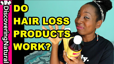 Do Hair Loss Products Work? | My SHOCKING EXPERIENCE Groganics DiscoveringNatural