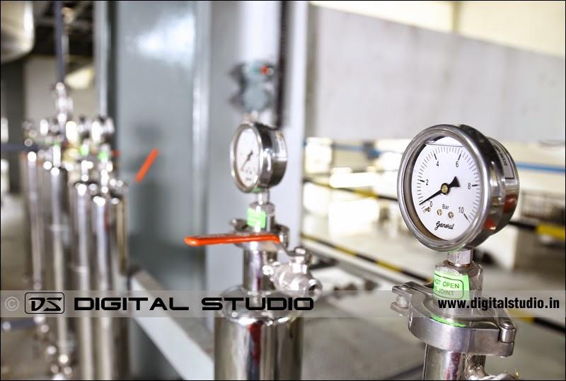 Measurement gauges of pressure etc.