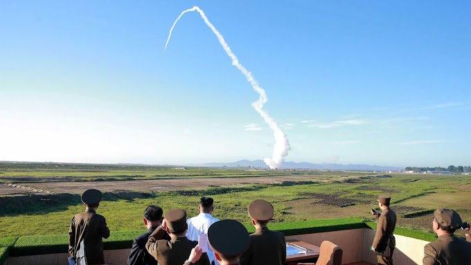Coreia do Norte dispara mísseis de curto alcance, diz agência