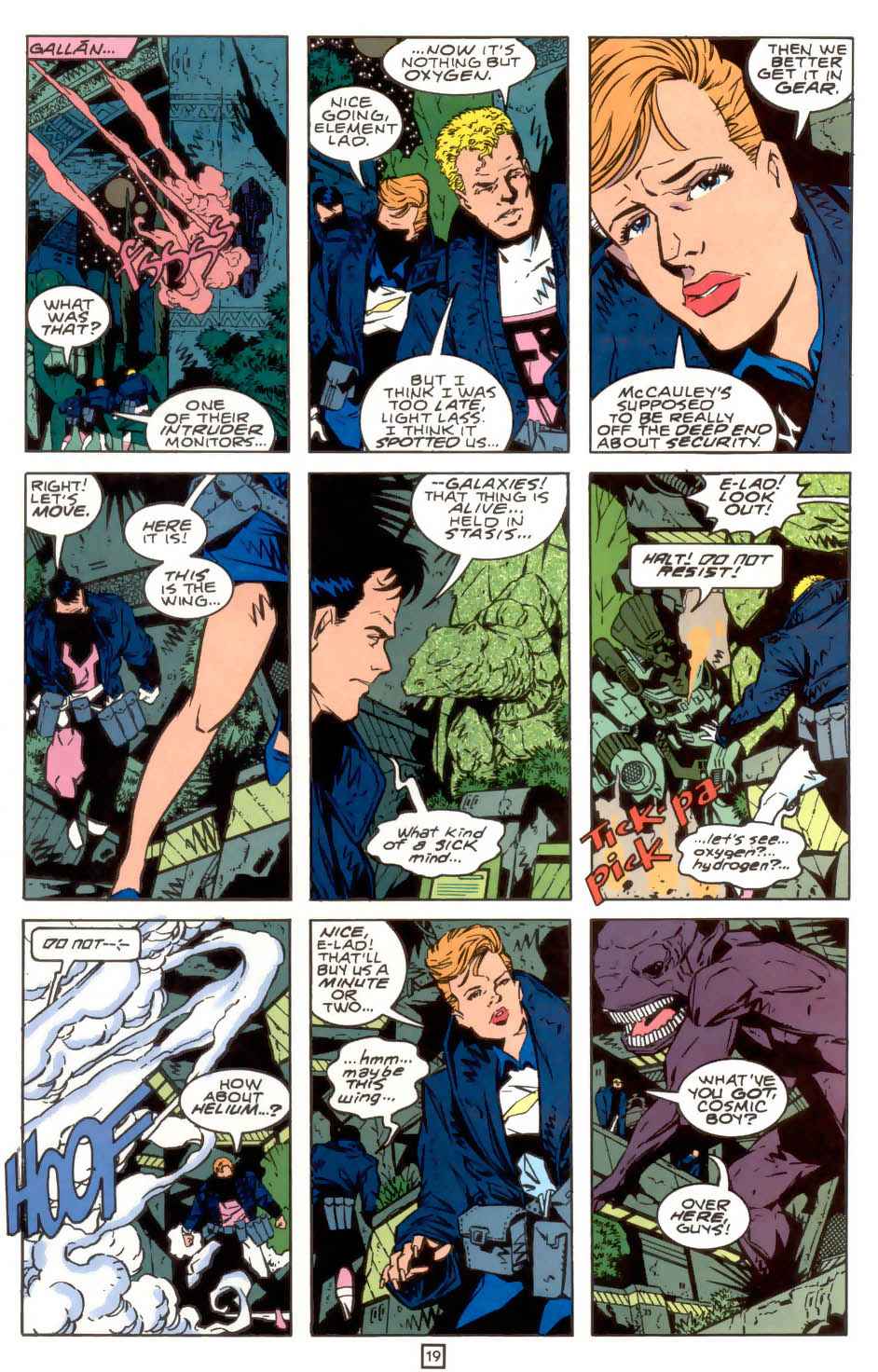 Legion of Super-Heroes (1989) 39 Page 19