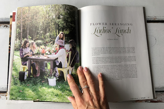 autumn Mingle magazine - entertaining inspiration for creative get togethers