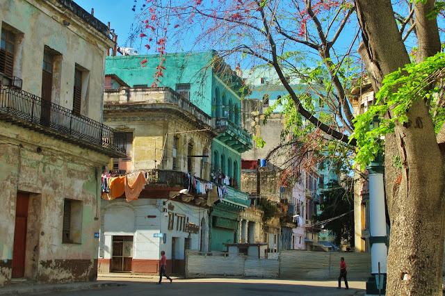 Chegada à Cuba, em Havana.