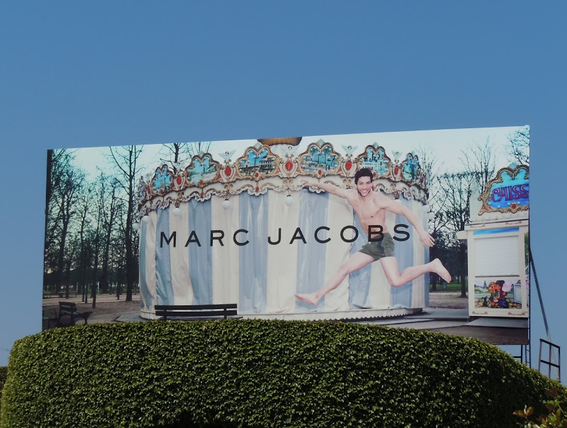 Marc Jacobs Merry go round billboard