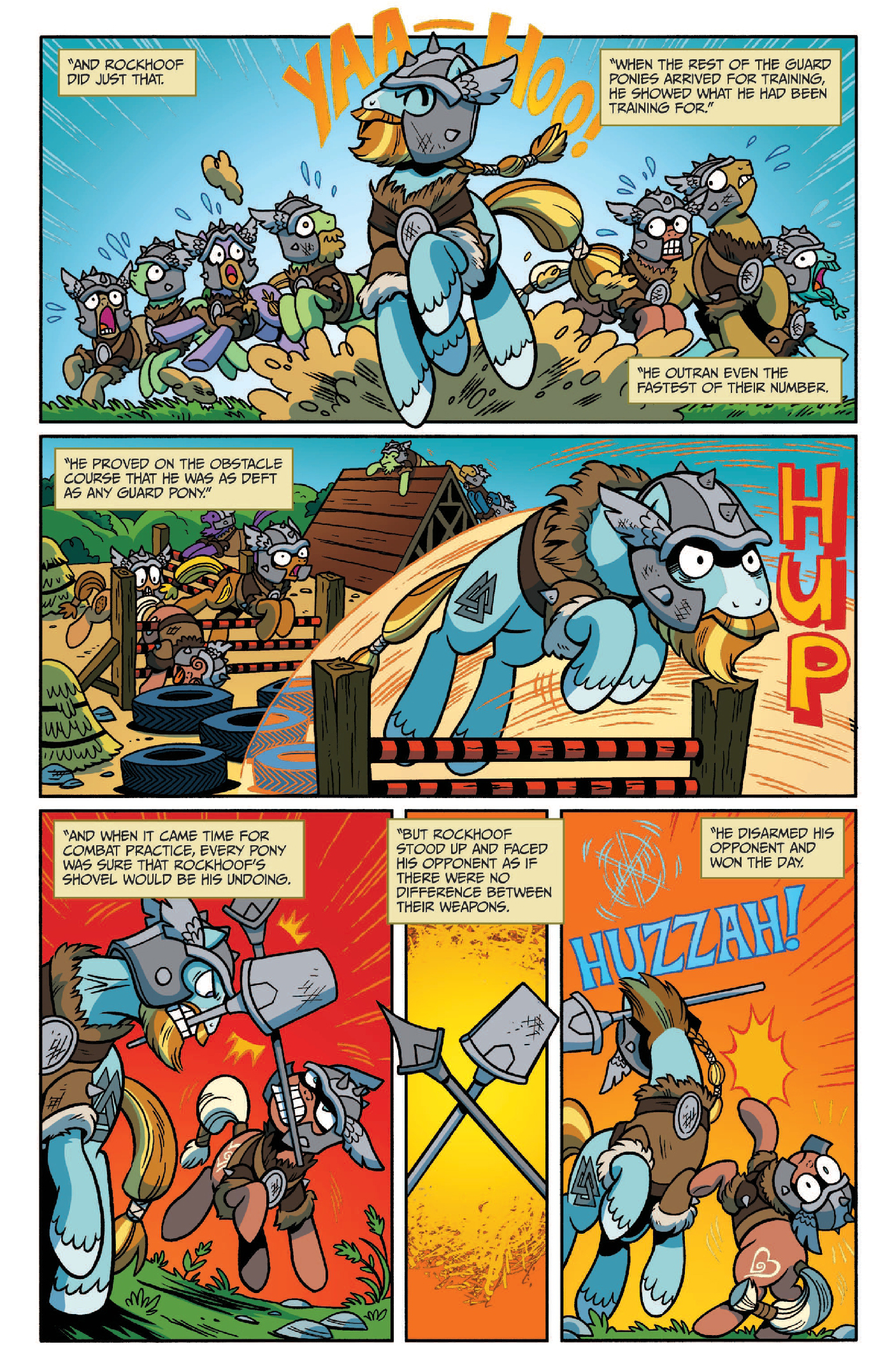 Read online My Little Pony: Legends of Magic comic -  Issue #2 - 7