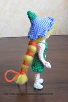 Дюймовочка вязаная крючком (Tumbelina)