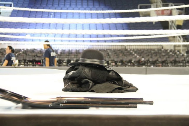 The Undertaker podría estar preparando su regreso a WWE