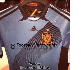 baf83b6e78 Tudo gira em torno do Vasco!  Seleção da Espanha lança uniforme que ...