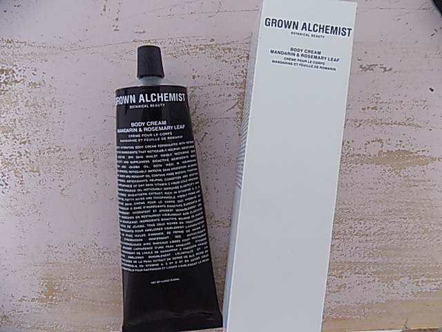 Grown Alchemist Mandarin and Rosemary Leaf Body Cream Review