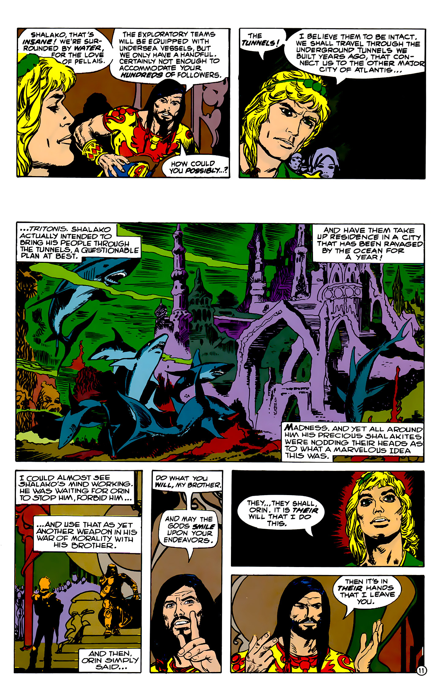 Read online Atlantis Chronicles comic -  Issue #2 - 11