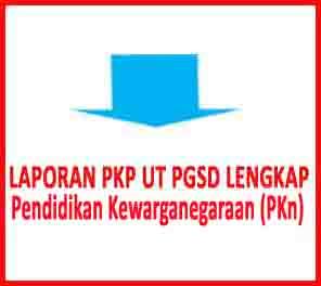 laporan pkp pkn ut pgsd terbaru