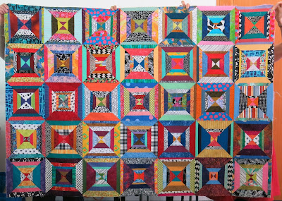 Workshop with Maryline Collioud-Robert - Scrap quilt