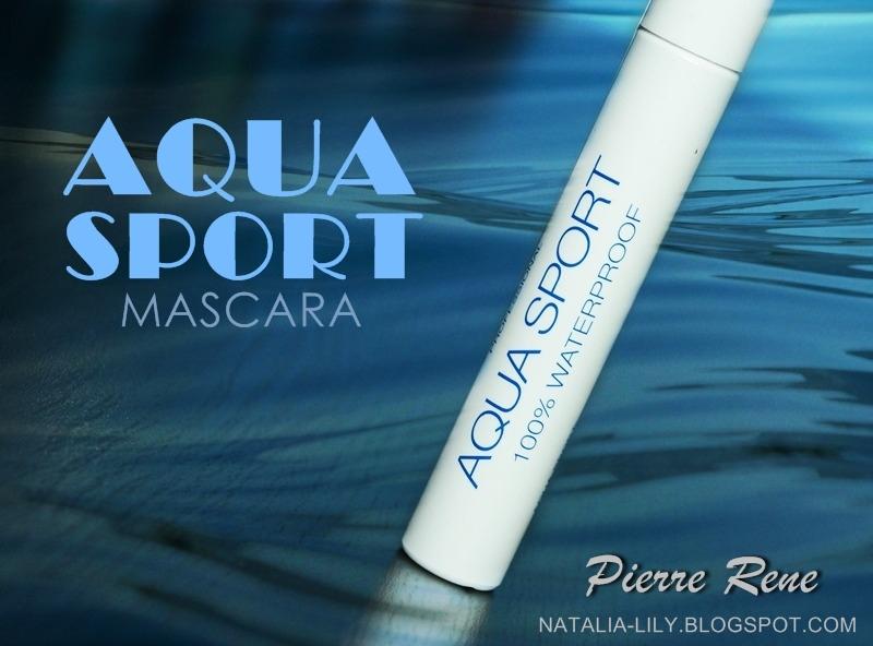 66a55302d90 natalia-lily: Beauty Blog: PIERRE RENE Aqua Sport 100% Waterproof Mascara -  wodoodporna mascara do rzęs