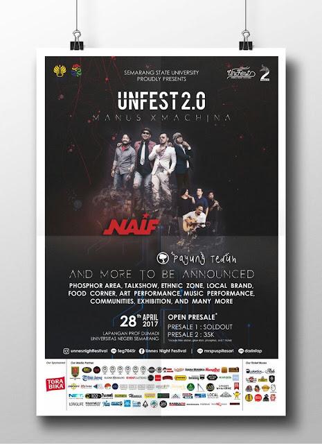Unnes Night Festival 2017 - Lorong Musik