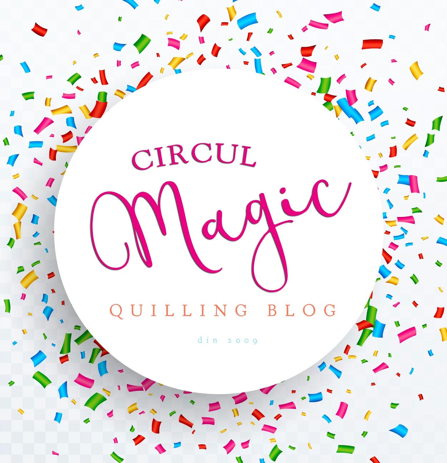 Un nou logo pentru Circul Magic, Quilling Blog