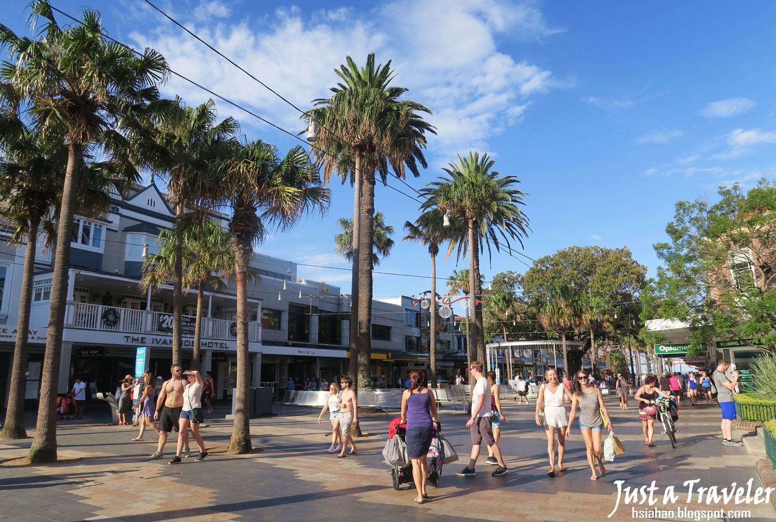 雪梨-悉尼-景點-推薦-曼利-海灘-交通-自由行-行程-旅遊-澳洲-Sydney-Manly-Beach-Tourist-Attraction-Travel-Australia