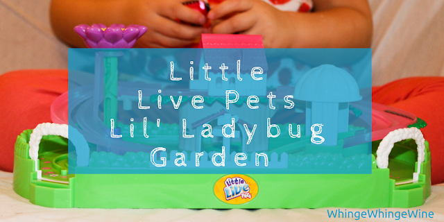 Little Live Pets Lil' Ladybug Garden playset review Moose Toys