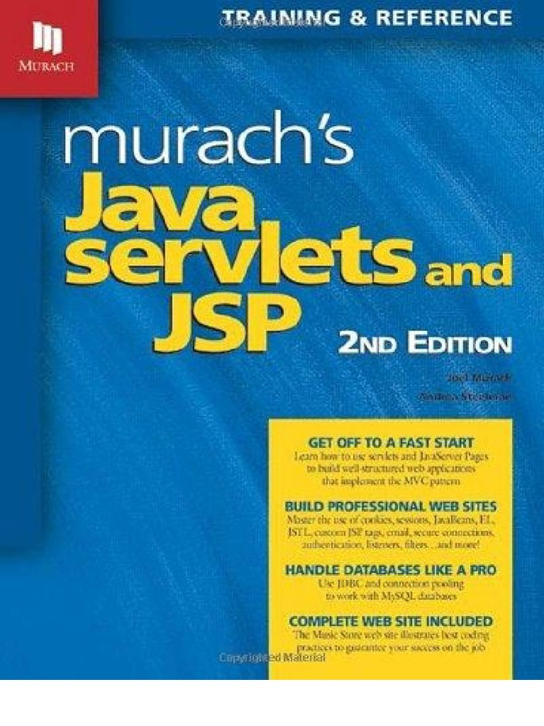 Which is a good refrence book for Servlets and JSP? - Quora