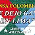 """Prensa de Colombia: """"Yo me dejo ganar en Lima para que Perú clasifique al Mundial"""""""