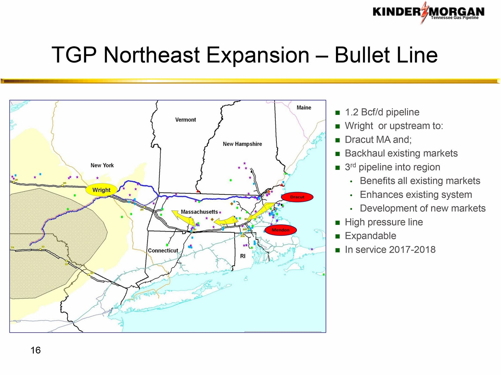 NY Shale Gas Now!: Quietly Re-Routed: Kinder Morgan's