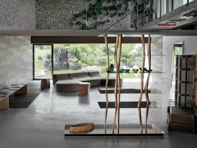 The eye-catching solid wood furniture brings a natural touch to your interior