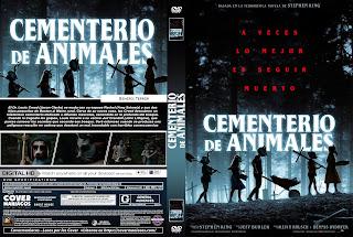 Pet Sematary 2019 - CEMENTERIO DE ANIMALES [ COVER DVD ]CARATULA